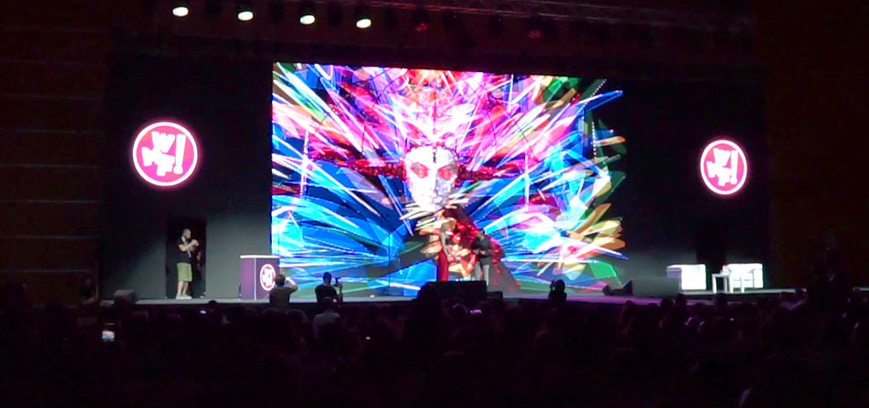 vr painting performance web marketing festival